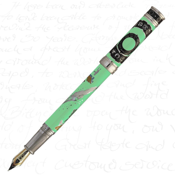David Oscarson 2012 Pistachio Green Pen