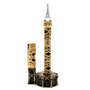 S.T. Dupont Haute Creation Architecture Collection Rollerball Pen - Eiffel Tower