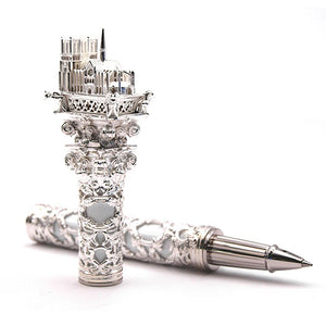 S.T. Dupont Haute Creation Architecture Collection Rollerball Pen - Notre Dame