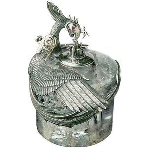 Montegrappa: Eternal Bird Inkwell Sterling Silver #44/500