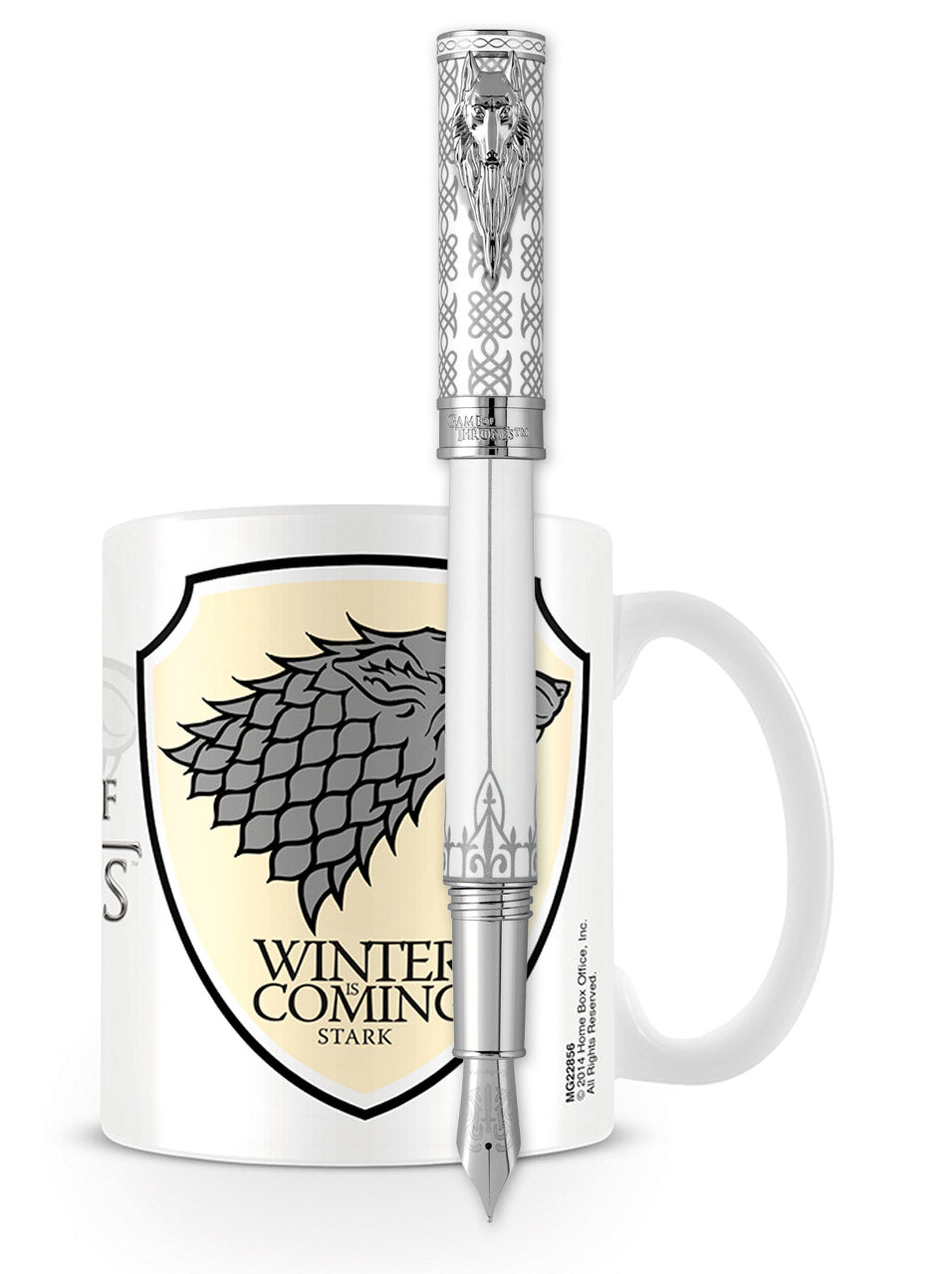 Montegrappa Game of Thrones Fountain Pen - Stark