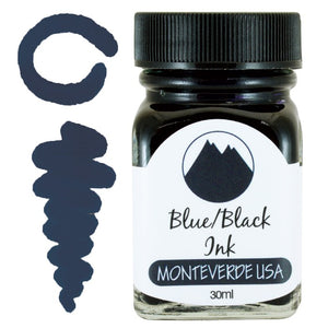 Monteverde Blue/Black Ink - 30ml Bottle