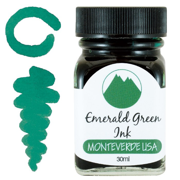 Monteverde Emerald Green Ink - 30ml Bottle