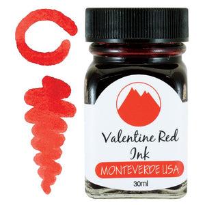 Monteverde Valentine Red Ink - 30ml Bottle
