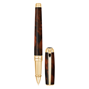 S.T. Dupont Line D Large Rollerball Pen - Atelier Brown Lacquer
