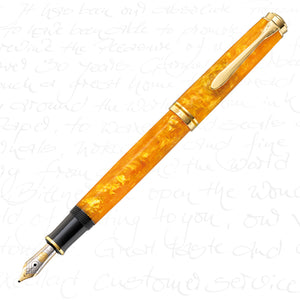 Pelikan Souveran M600 Vibrant Orange Fountain Pen