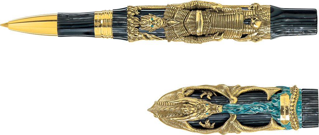 Montegrappa Winter Is Here Limited Edition Rollerball Pen - Gold