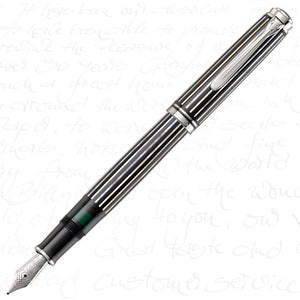 Pelikan Limited Edition M805 Souveran Raden Royal Platinum Fountain Pen