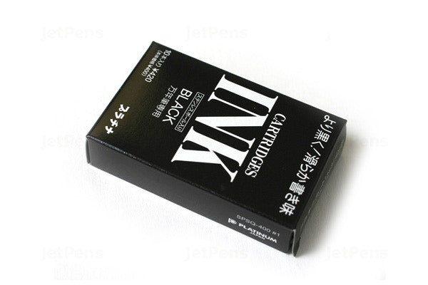 Platinum Cartridges - Black