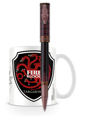 Montegrappa Game of Thrones Rollerball Pen - Targaryen