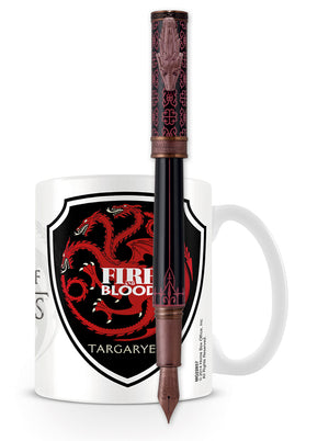 Montegrappa Game of Thrones Fountain Pen - Targaryen