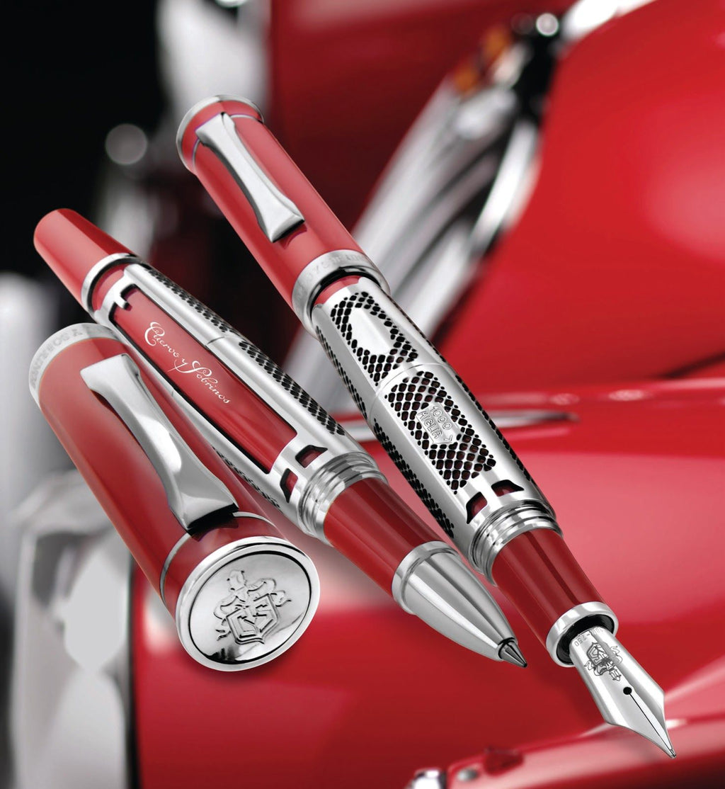 Cuervo y Sobrinos  Limited Edition Racing Fountain Pen