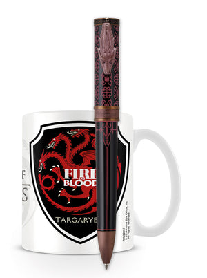 Montegrappa Game of Thrones Ballpoint Pen - Targaryen