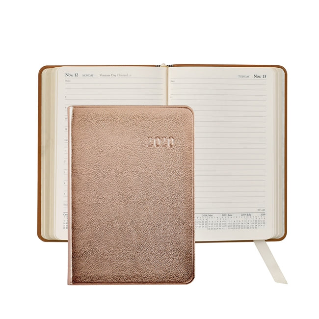 Graphic Image Datebook Daily Journal - Metallic Leather
