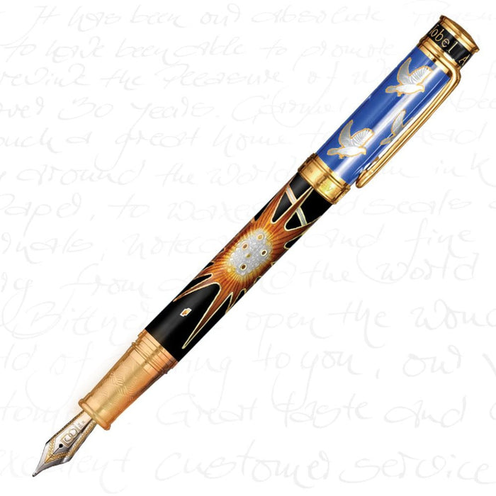 David Oscarson Alfred Bernhard Nobel Blue Pen
