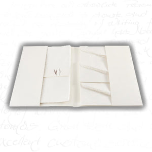 "Amalfi Stationery - 4.5 x 6.75"" Folded Cards & Envelopes (8ct)"