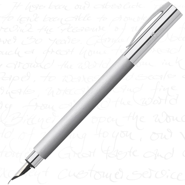 Faber-Castell Ambition Stainless Steel Fountain Pen