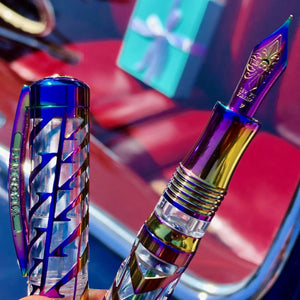 Visconti Watermark Fountain Pen - Rainbow