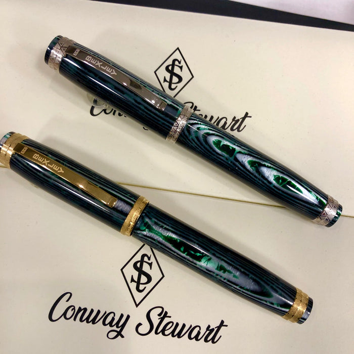 Bexley Golden Age Fountain Pen - Waves