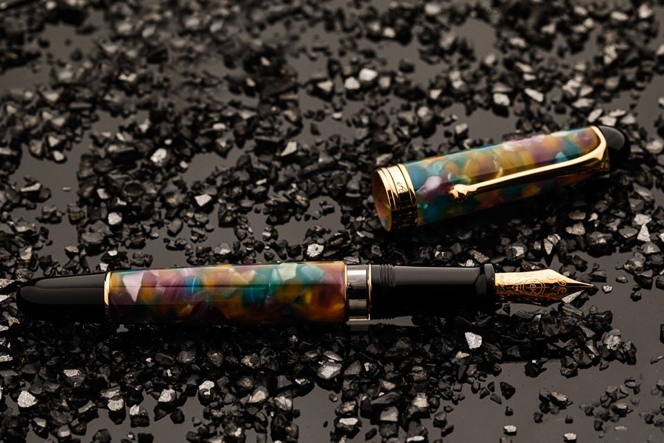 Aurora 888 Fountain Pen - Giove