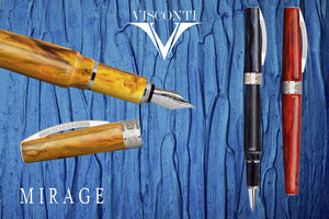 Visconti Mirage Fountain Pen - Amber