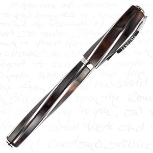 Visconti Divina Elegance Oversize Fountain Pen Royal Brown