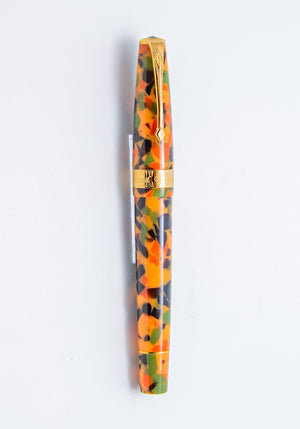 Conway Stewart Arlecchino Fountain Pen - Gold