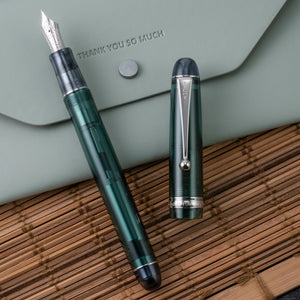 Pilot Custom 74 Fountain Pen - Forest Green
