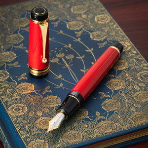 Pilot Custom Urushi Fountain Pen - Vermilion