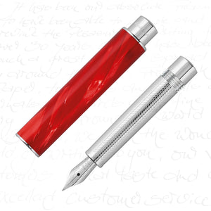 Montegrappa Limited Edition Gnomo Fountain Pen - Red