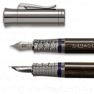Graf von Faber-Castell 2019 Pen of the Year - Magnolia Wood Samurai