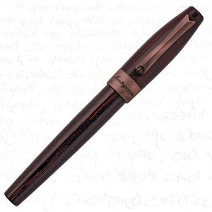 Montegrappa Heartwood Teak Fountain Pen