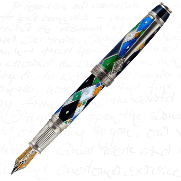 David Oscarson Harlequin Black Pen