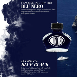 Aurora 100th Anniversary Special Edition Ink - Blue Black