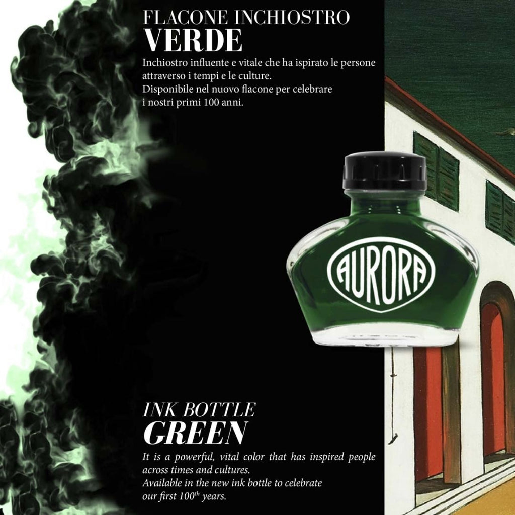 Aurora 100th Anniversary Special Edition Ink - Green