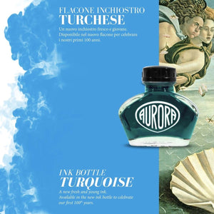 Aurora 100th Anniversary Special Edition Ink - Turquoise