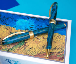 Visconti Van Gogh Ballpoint Pen - Wheatfield With Crows