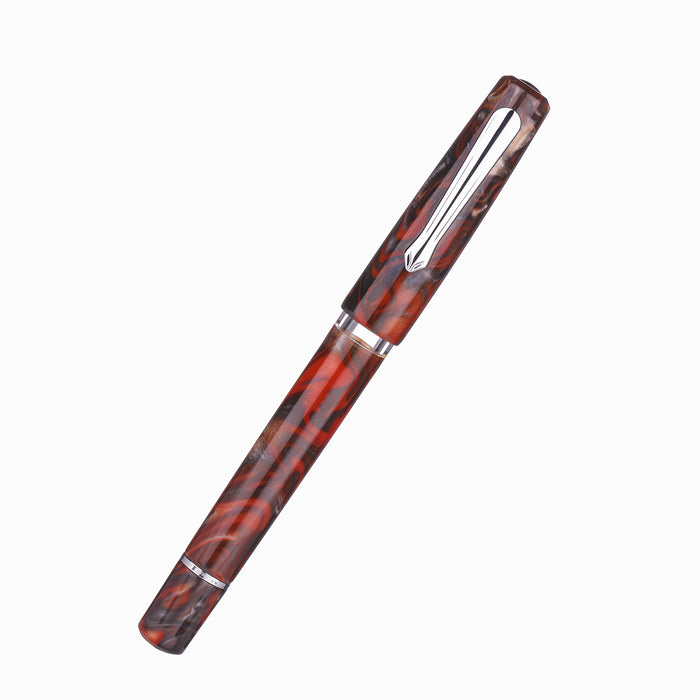Narwhal Schuylkill Fountain Pen - Rockfish Red