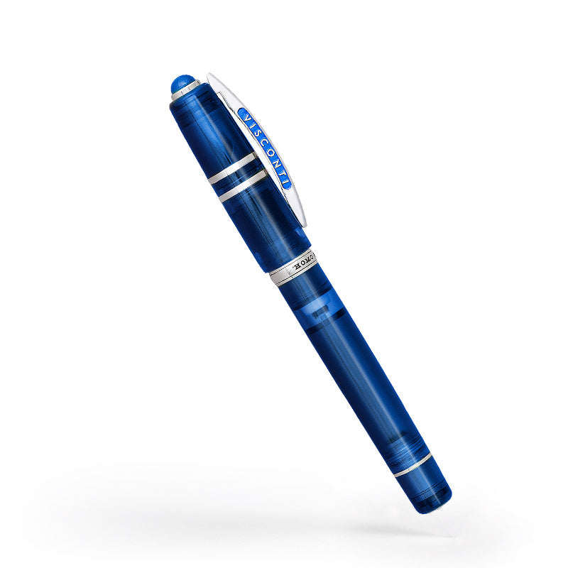 Visconti Homo Sapiens Demo Stones Fountain Pen - Sapphire