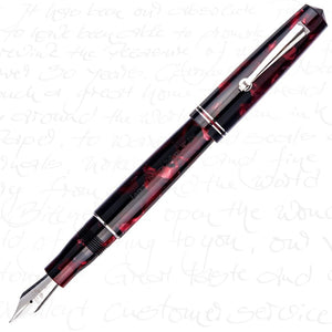 Armando Simoni Club Leonardo MomentoZero Red Fire Fountain Pen