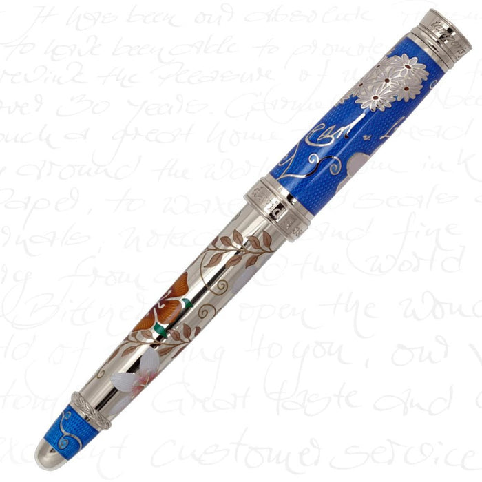 David Oscarson Carl Linnaeus Royal Blue Pen
