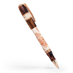 Visconti Leonardo da Vinci Machina Rollerball Pen - Rose Gold