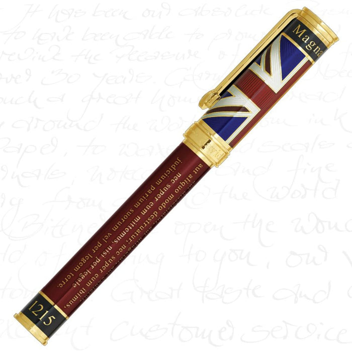 David Oscarson Magna Carta Ruby Red Pen