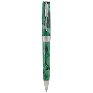 Pineider La Grande Bellezza Gemstones Ballpoint Pen - Malachite Green