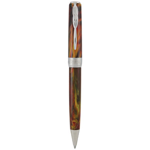 Pineider La Grande Bellezza Gemstones Ballpoint Pen - Rodolite Red