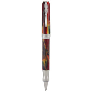 Pineider La Grande Bellezza Gemstones Rollerball Pen - Rodolite Red