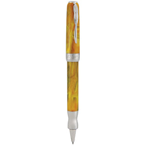 Pineider La Grande Bellezza Gemstones Rollerball Pen - Tiger's Yellow