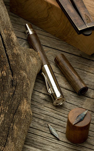 Graf Von Faber-Castell Pen of the Year 2010 Walnut Wood