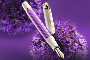 Pelikan M600 Fountain Pen - Violet-White Special Edition