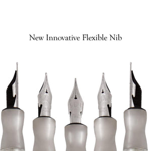 Pineider Honeycomb Fountain Pen - Sugar White